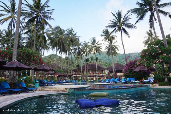 kolam renang di lombok